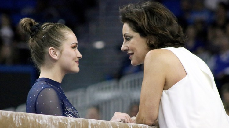 Even if you don't follow competitive gymnastics, you may have seen UCLA gymnast Katelyn Ohashi's viral floor routine, which blew up on social media.