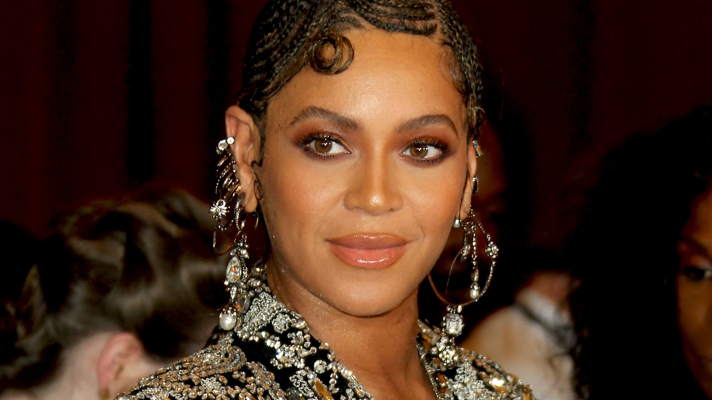"""Beyonce at the world premiere of Disney's """"The Lion King"""" at Dolby Theatre in Hollywood, California, July 10, 2019. Beyonce's new visual album, """"Black Is King,"""" was inspired by """"The Lion King."""""""