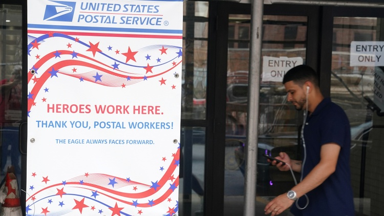 Residents are experiencing delays in getting their mail lately. The backlog followed changes that U.S. Postmaster General Louis Dejoy made in Washington.