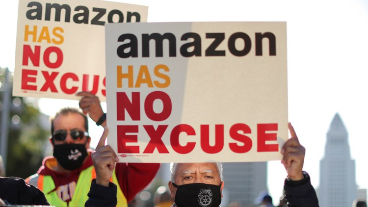 The vote drew national attention as organizers pushed to create the first union at an American Amazon facility.
