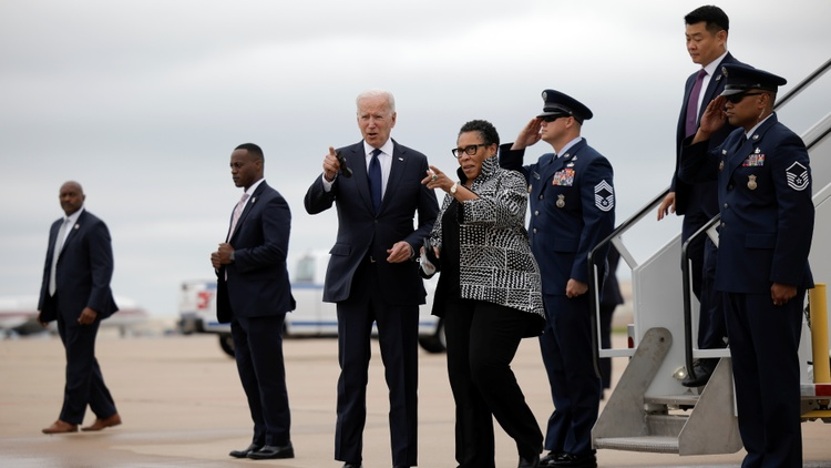 In Tulsa, Oklahoma, President Biden today marked the 100th anniversary of the Tulsa Race Massacre, and he unveiled new measures to address the racial wealth gap.