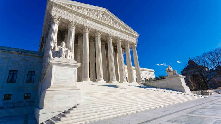 This is the last month of the current Supreme Court session. The next one begins in October. Press Play gets a lightning round of what's left on the court's docket.