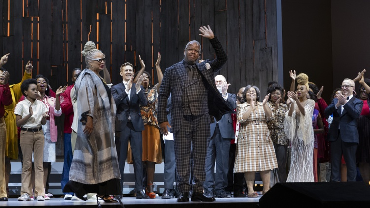 """"""" Fire Shut Up in My Bones """" is the Metropolitan Opera's first production composed by a Black artist — Grammy winner Terence Blanchard."""