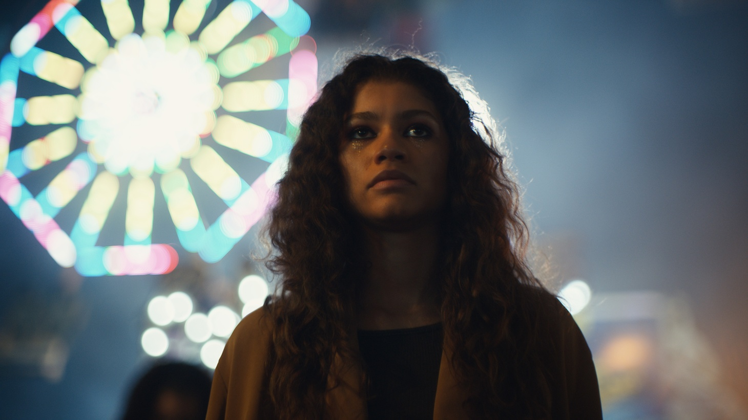 "A scene from the HBO show ""Euphoria."""