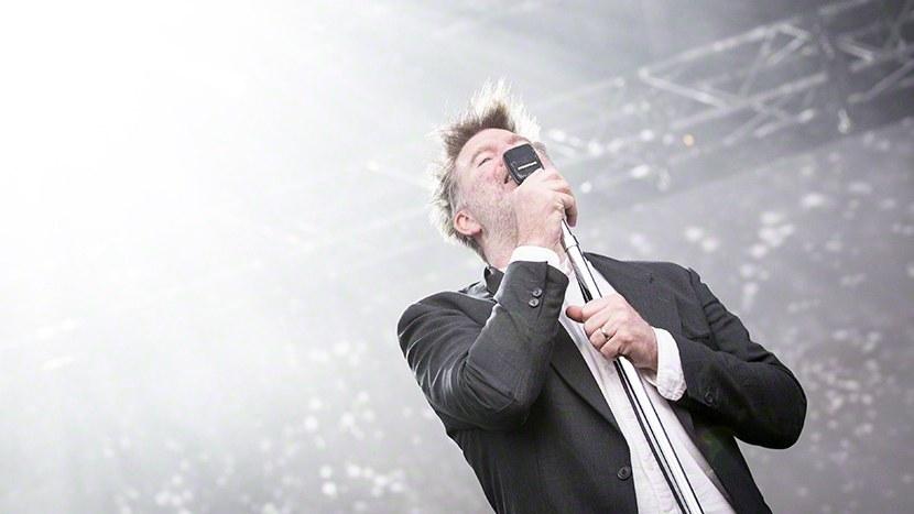 LCD Soundsystem performs at Quart Festival in Kristiansand on 28. June 2016.