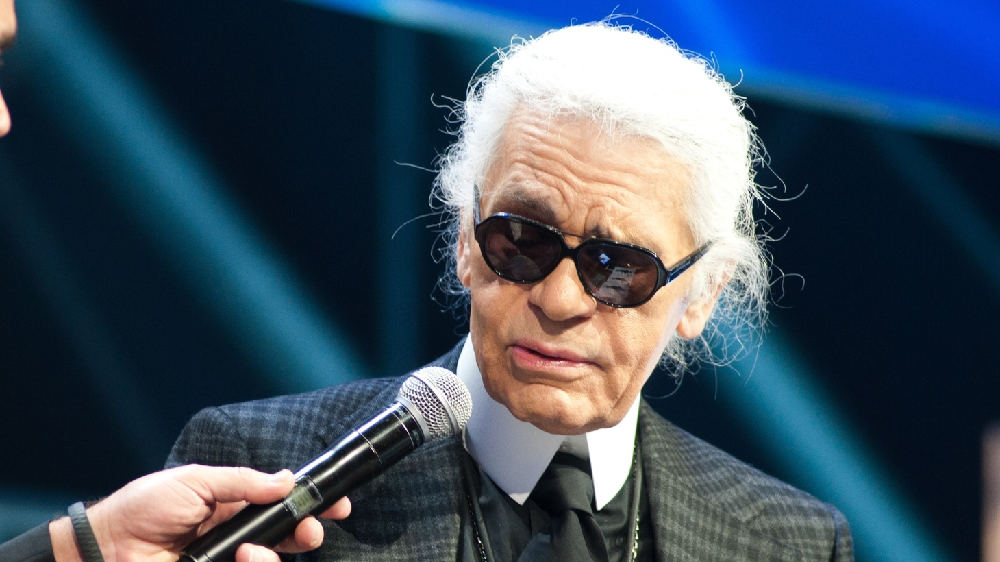Karl Lagerfeld at LeWebb Conference 2011.