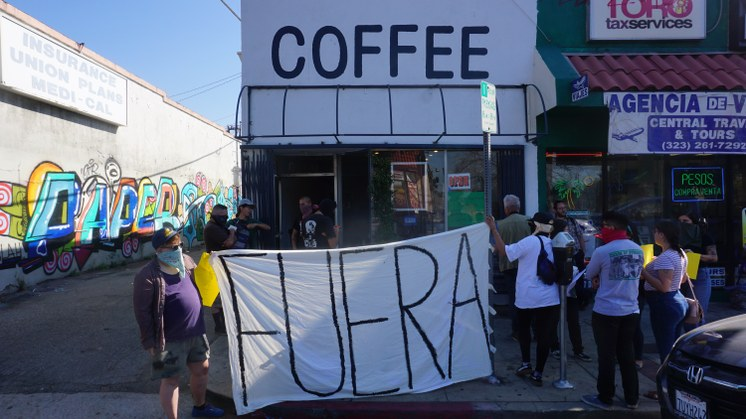 Weird Wave Coffee Brewers Protest
