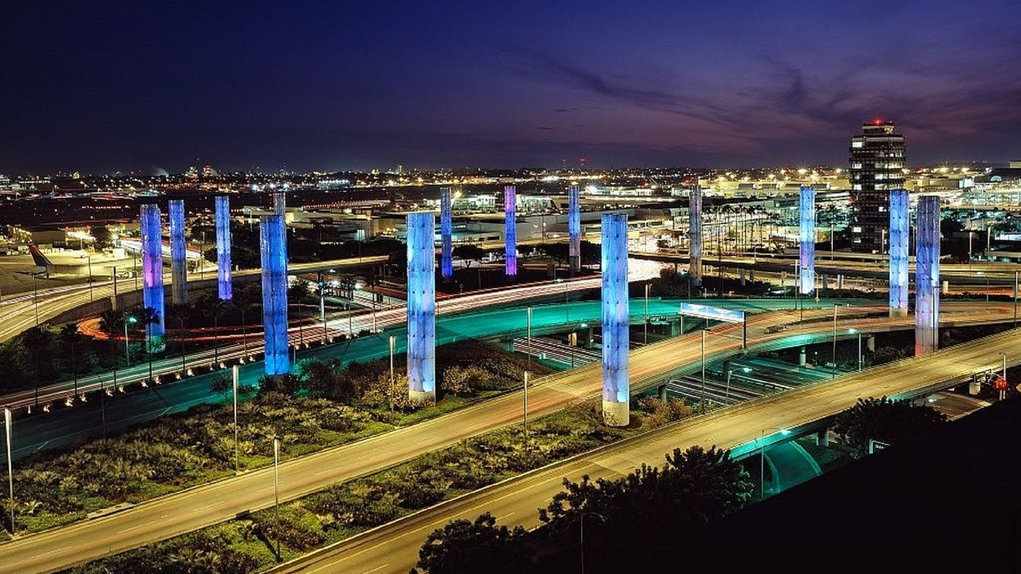 LAX airport.