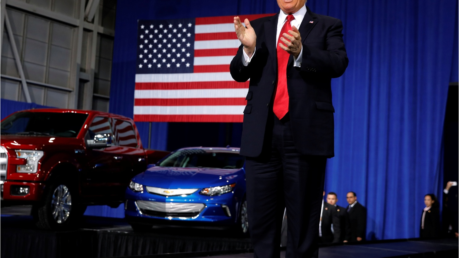 With President Trump unveiling lower fuel economy standards, will carmakers build more gas guzzlers? Also, an investigation looks into the risks of shipping nuclear warheads across the country on old 18 wheelers, driven by underpaid and overworked drivers. And, six years after Fukushima, nuclear waste has reached parts of the U.S. west coast.