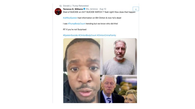 Almost immediately after Jeffrey Epstein's death was announced early Saturday, conspiracy theories roared into action on both the left and the right sides of Twitter.