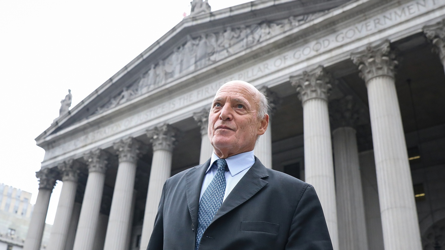 Attorney Martin Weinberg walks following a bail hearing for his client Jeffrey Epstein's sex trafficking case, from the Southern District of New York federal courthouse in New York City, New York, U.S. July 18, 2019.