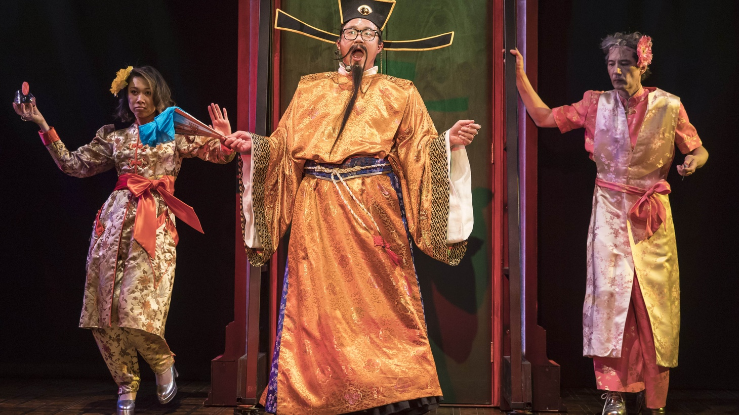 """In the play """"King of the Yees,"""" Larry Yee is part of an obsolescent Chinese men's club, but his daughter Lauren thinks the club is no longer relevant -- and neither is the Chinatown she grew up in. The play looks at their father-daughter relationship, Chinese American culture, and how Asian Americans are represented onstage."""