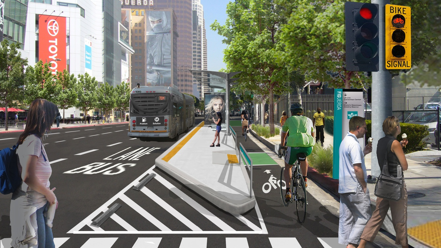 'Road diets' is the term for removing car traffic lanes in favor of bike lanes, parking, or larger sidewalks. Advocates say reducing car lanes on some busy streets means fewer accidents. But some drivers say the increased commuting time is unbearable and residential streets are now bearing the burden.