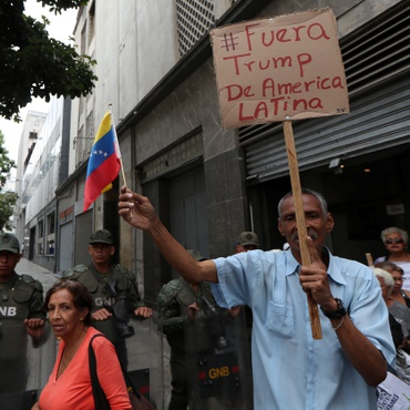 Representatives of Venezuelan president Nicolas Maduro and opposition leader Juan Guaido are trying to find a peaceful solution after months of bloody clashes and a failed uprising.