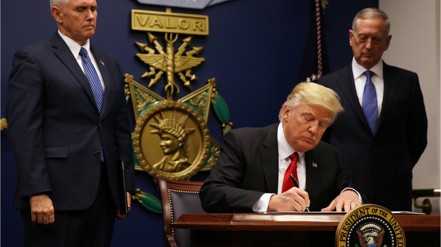 President Donald Trump's revised travel ban says that for 90 days there will be no new visas issued to people from six Muslim-majority countries. No refugees from any country will be allowed into the US for 120 days. What will happen to refugees who have spent years trying to win asylum?