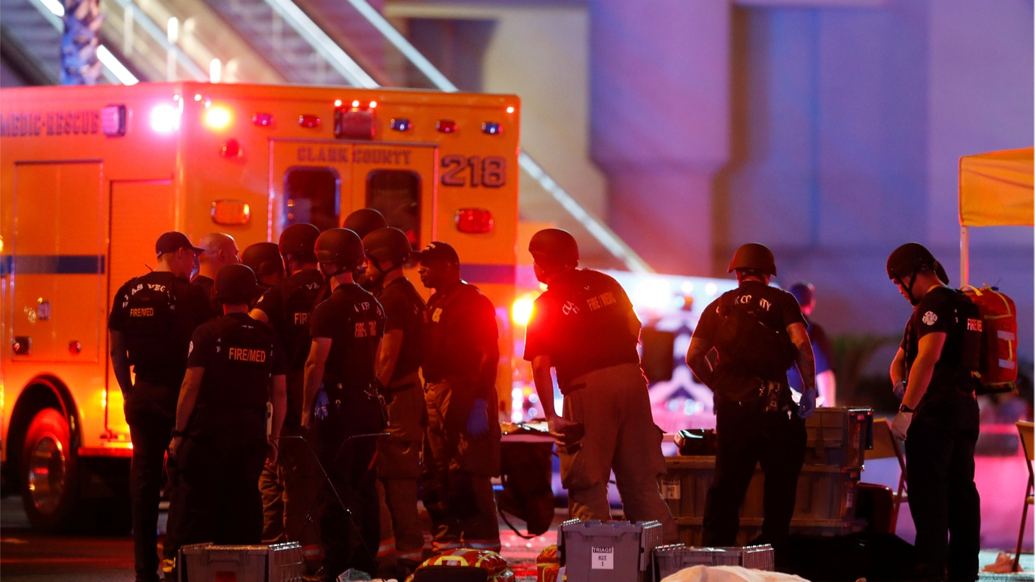 Sunday's shooting in Las Vegas is the worst mass shooting in modern U.S. history. At least 58 people were killed and more than 500 injured. The death toll climbs.