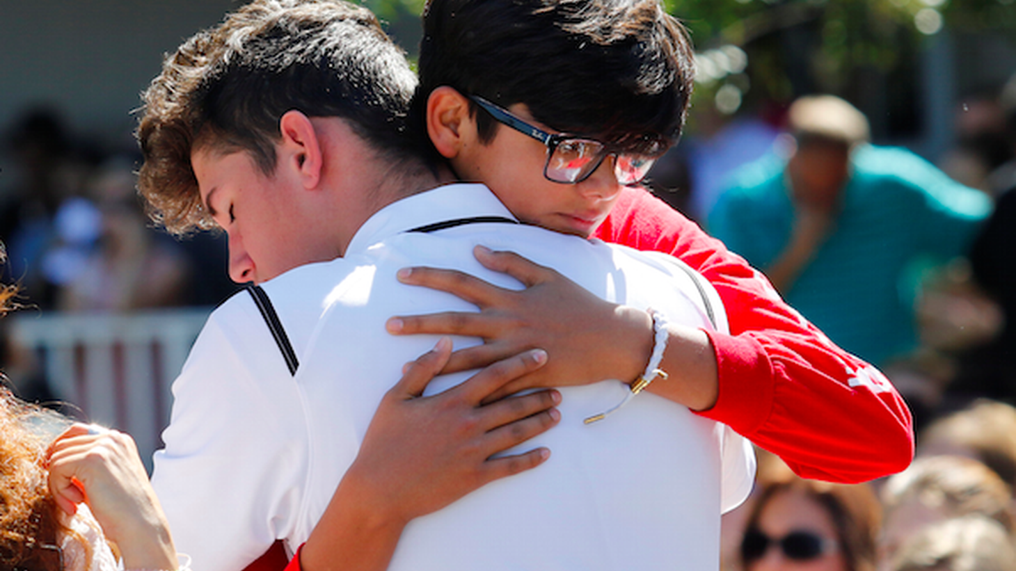 On Wednesday, 19-year-old Nikolas Cruz fatally shot 17 people at Marjory Stoneman High School in Parkland, Florida. He had been kicked out, and reportedly was fascinated with guns.