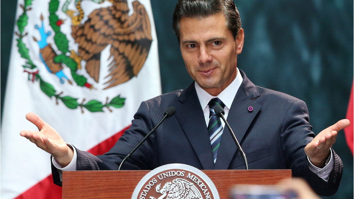 A transcript of a phone call between President Trump and his Mexican counterpart Enrique Pena Nieto is getting attention today. Trump says the border wall is not the top issue between the two countries. And he asked Pena Nieto to stop saying publically that Mexico wouldn't pay for the border wall.