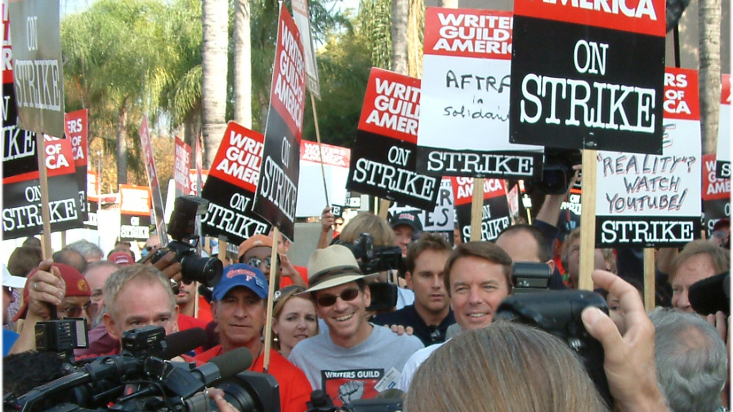 Writers in Hollywood just finished voting yay or nay to go on strike. The vote is expected to be in favor, but that doesn't necessarily mean they'll walk off the job. We get the details and look at the effects of the last strike.