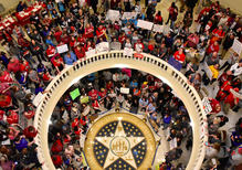What's behind the teacher protests in red states?