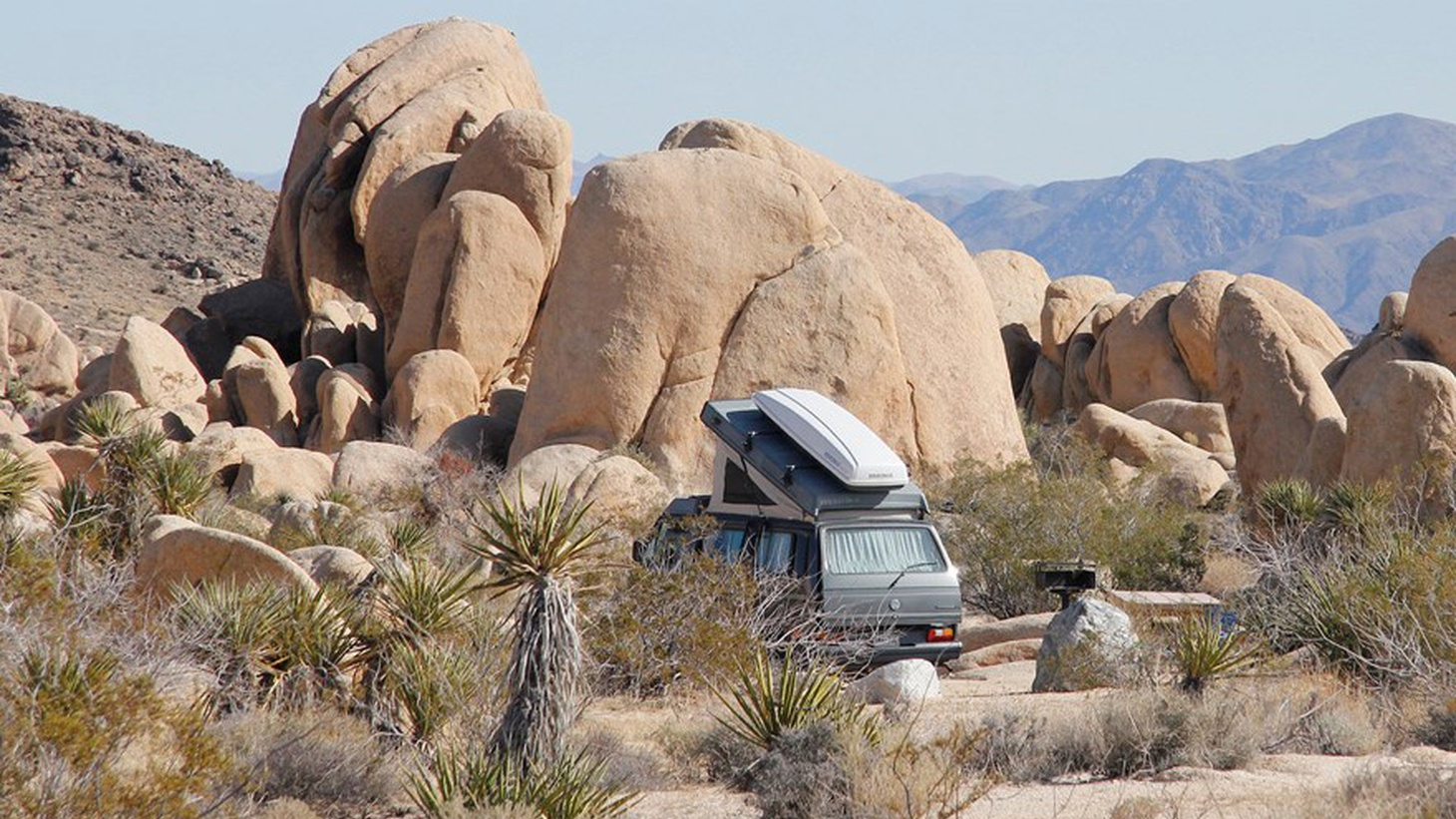 White Tank Campground in Joshua Tree National Park.