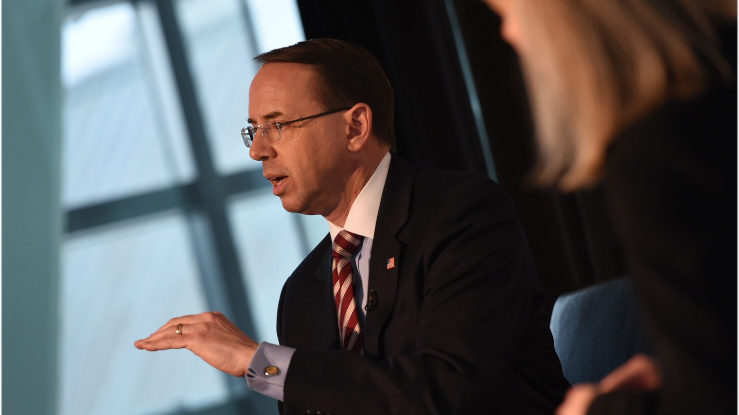 We ask what happens if Deputy Attorney General Rod Rosenstein resigns or is fired later this week. We also discuss Supreme Court nominee Brett Kavanaugh, who is facing a second allegation of sexual misconduct.