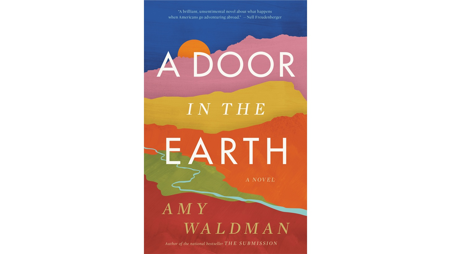 "The cover of ""A Door in the Earth."""