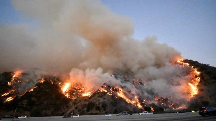 The Getty Fire has burned more than 650 acres and is only 5% contained as of this morning.