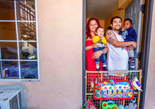When homeless shelters are full, families call motels 'home'