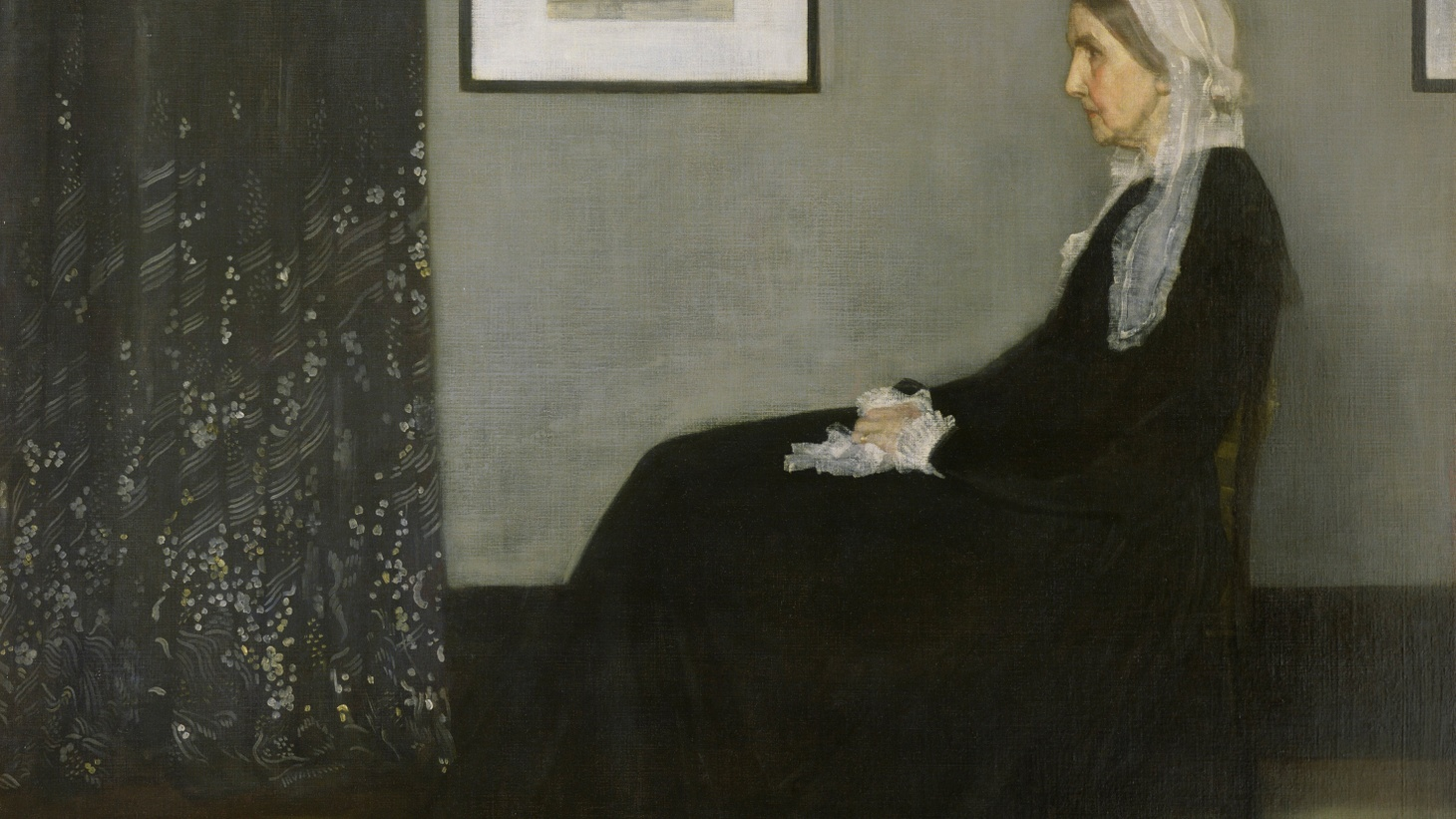 Painter James McNeill Whistler's famous 1871 portrait of his mother is currently on display at the Norton Simon Museum in Pasadena, on loan from the Musee d'Orsay in Paris. In honor of Mother's Day    this Sunday   , we get a primer on the painting's history.