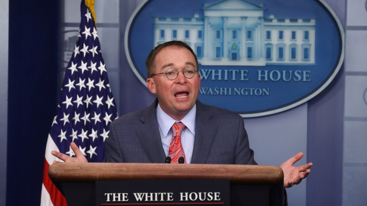 Acting White House Chief of Staff Mick Mulvaney today announced that President Trump awarded next year's G7 Summit of world leaders to his own resort near Miami.   