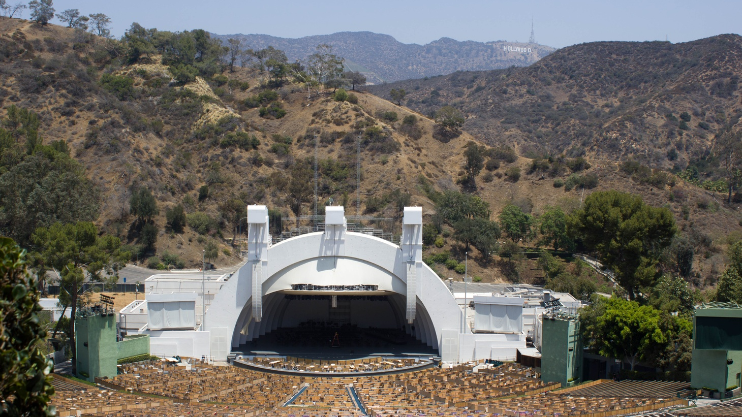 Audiences can go online to watch the LA Philharmonic perform at the Hollywood Bowl. Their new series is called SOUND/STAGE.