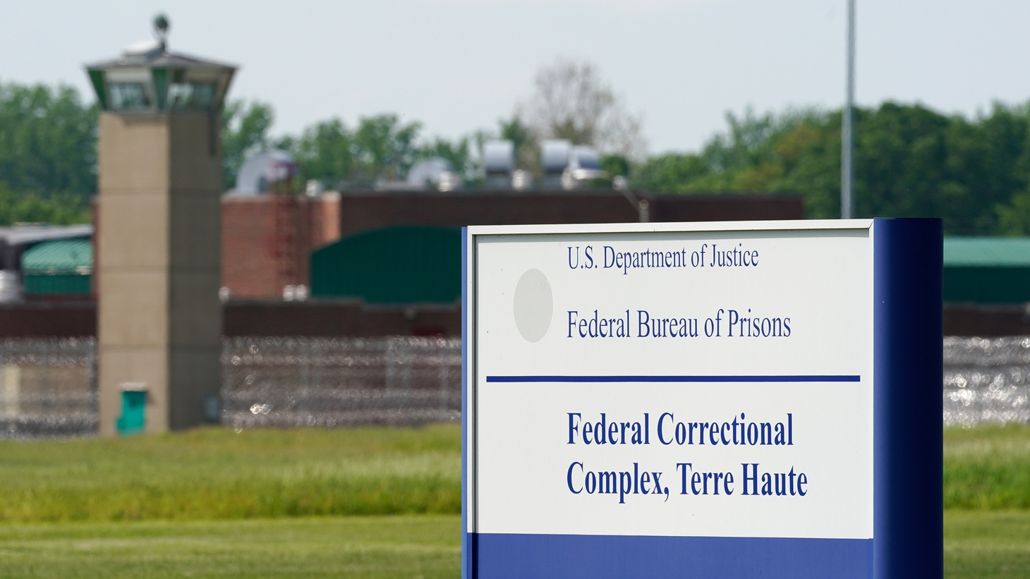 """The Federal Corrections Complex, from where John Walker Lindh, known as the """"American Taliban"""" will leave on May 23, is seen in Terre Haute, Indiana, U.S. May 22, 2019."""