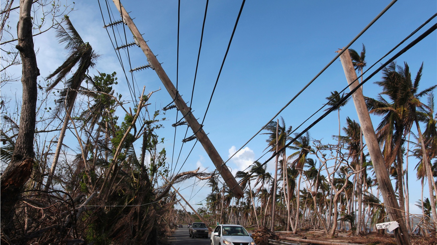 It's been just over a month since Hurricane Maria struck Puerto Rico. Almost 80 percent of residents still don't have electricity. Now Puerto Rico's state-owned utility company has awarded a $300 million contract to rebuild its power grid. The award went to a 2-year-old firm in Montana.
