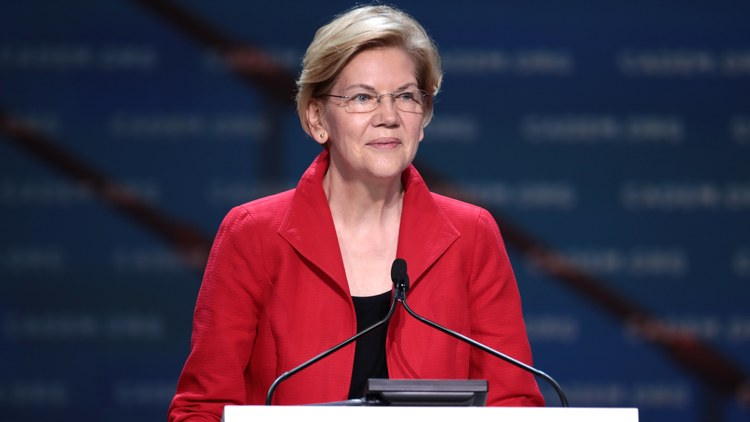 Massachusetts Senator Elizabeth Warren is in fourth place among New Hampshire Democratic primary voters, according to the latest Boston Globe/WBZ/Suffolk University    poll   .