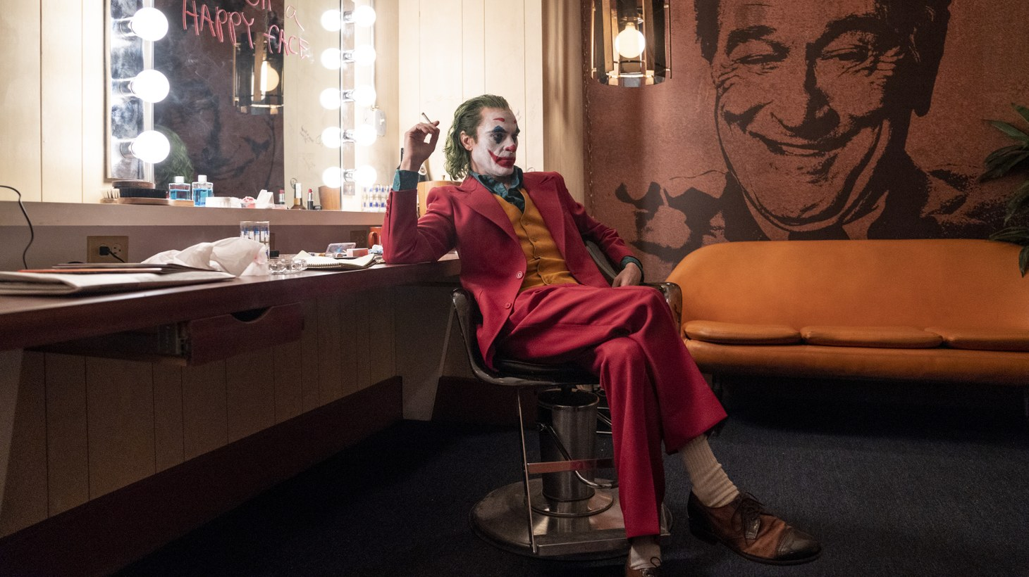 "A scene from ""The Joker."""