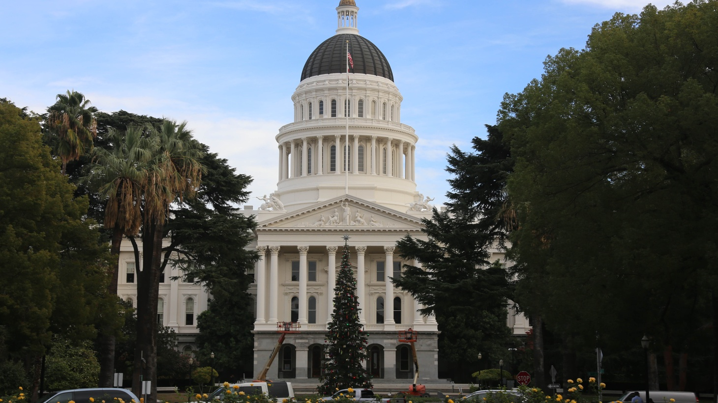 California State Capital in Sacramento.