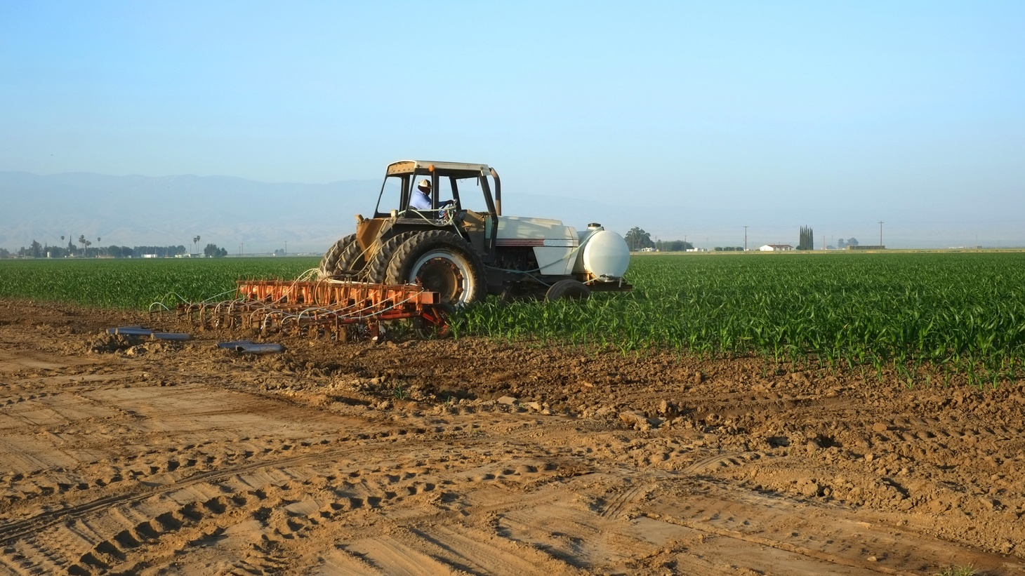 Drought is so severe in California that Central Valley farmers must cut their water use.