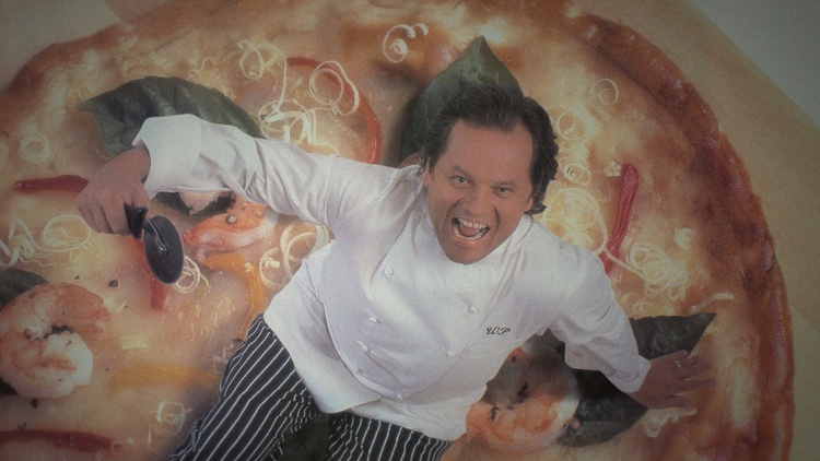 Wolfgang Puck has dozens of restaurants worldwide, supermarkets carry his food, and he's considered as the first true celebrity chef who redefined American cuisine.