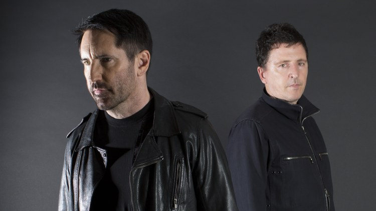 """Musician Trent Reznor and producer Atticus Ross have worked together on scores for several movies and TV shows, including the Emmy-nominated HBO series """"Watchmen."""""""
