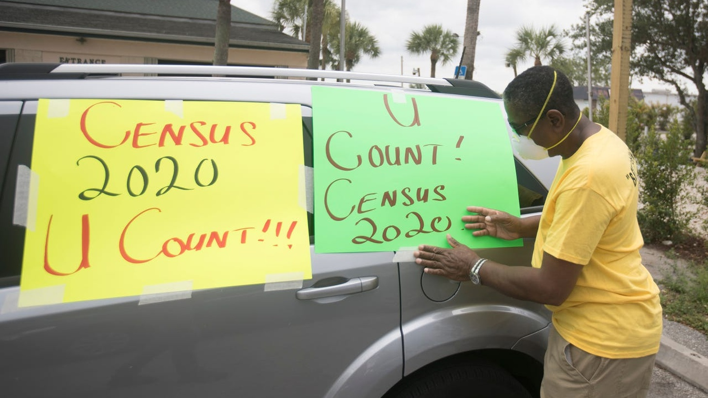 A group of residents went into the 401.22 Census tract in the Lehigh Acres neighborhood to urge residents to participate in the U.S. Census 2020 count. The neighborhood has a historically low turnout in the U.S. census.
