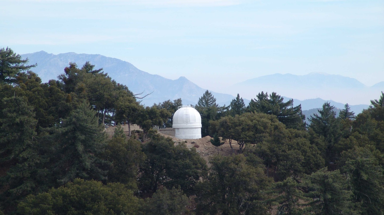 Mt. Wilson in LA County is home to Caltech's seismic station, which has been recording earthquake activity for a century.