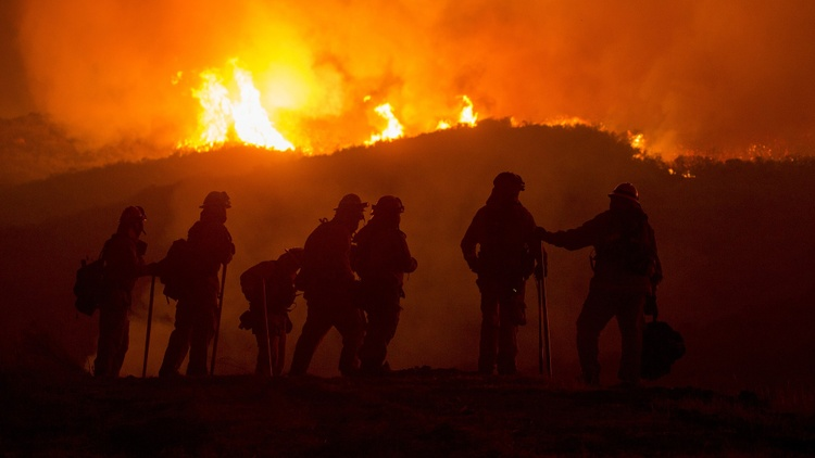 California wildfires and becoming a climate change migrant
