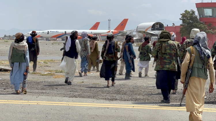 Planes carrying the last American troops out of Afghanistan departed minutes before the deadline.