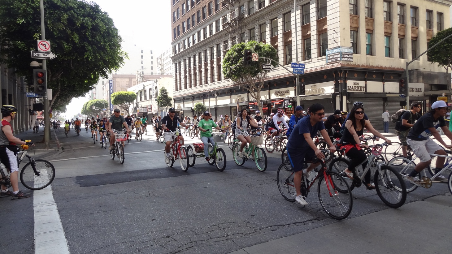 This Sunday, thousands of bicyclists will roll through the streets of L.A. for the 10th CicLAvia. They'll be peddling through some neighborhoods previously untouched by the event, including East Los Angeles, and not everyone there is happy about it. Some see CicLAvia as a harbinger of gentrification.