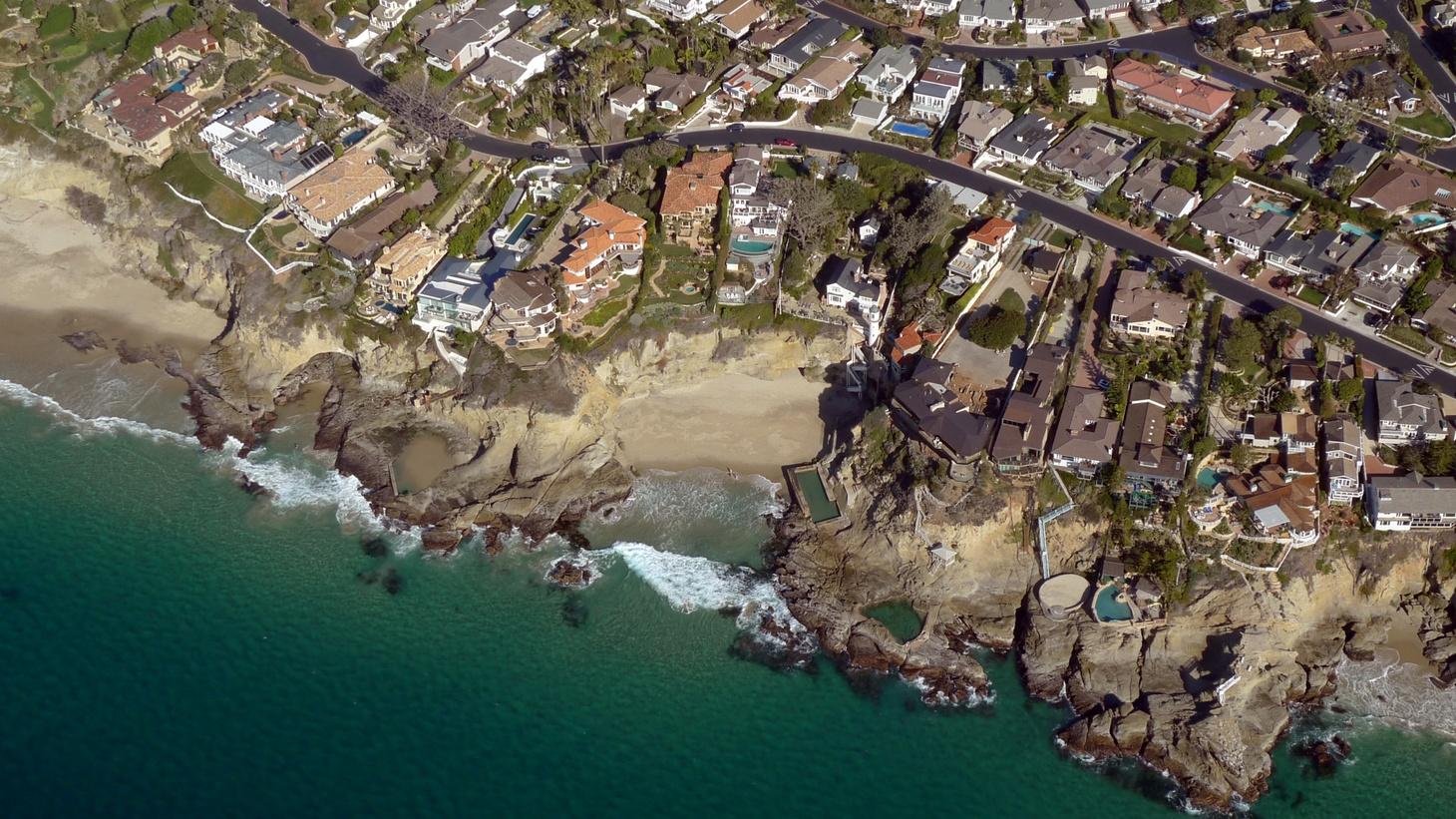 Three Arch Bay, Laguna Beach, California, 2015.