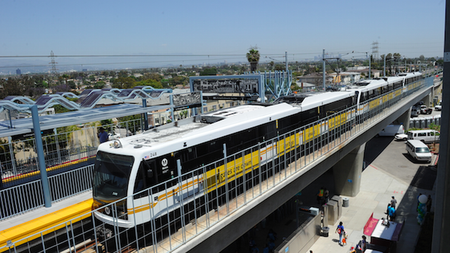 L.A. City Council will vote Tuesday on a plan that could pave the way for up to 6,000 new housing units near the Expo Line by 2035. It's a model city leaders hope to emulate all over the city: dense housing near public transportation.