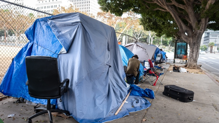 Governor Gavin Newsom launched a week-long homelessness tour today.