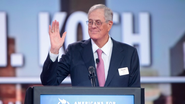 David Koch, one of the wealthiest men on the planet and an influential libertarian political force, has died at age 79.