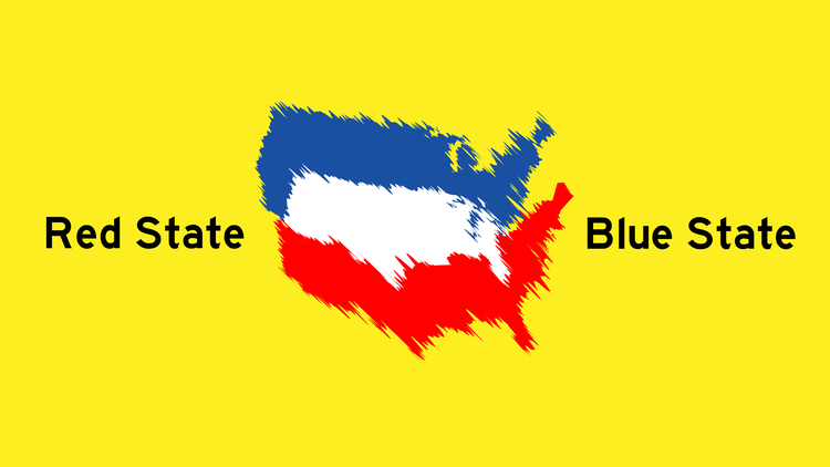 California used to be red. West Virginia used to be blue. We look at the political history of both states.